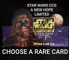 Star Wars CCG A New Hope Lmtd/BB Rare Single Cards - Choose Your Card - SWCCG $3.0 USD on eBay
