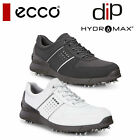 ECCO MENS BASE ONE WATER REPELLANT LIGHTWEIGHT GOLF SHOES WHITE