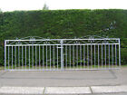 Kelso double driveway gates 39 ins high at shoulder fully galvanized