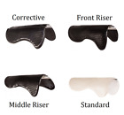 English Gel Half Pad Corrective Fit Front Middle Back Riser Dressage Jumping