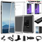 StoreInventoryfor samsung galaxy note 9 clear case cover with tempered glass screen protector