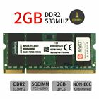 Für Kingston 20GB 16GB 8GB 4GB 2GB DDR2 533MHz KVR533D2S4/ 2G Laptop Speicher DE