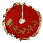 Party Christmas Tree Skirt Cover Carpet Supplies Edge Accessory Santa Skirt N3