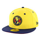 """New Era 5950 Club America """"Official"""" Fitted Hat (YL-NV) Men's Aguilas Soccer Cap"""