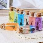 5 Sizes Mini Small Glass Bottles With Cork Stopper Containers Jars Tiny Via X5n6