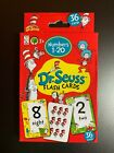 DR.SEUSS FLASH CARDS NUMBERS 1-20, ABC'S & WORDS, COLORS & SHAPES FUN LEARNING!