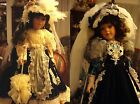 """KAIS DOLL FROM JANICE BERARD ALYSSA MARIE AND SHELLEY FULLY PORCELAIN 27"""" PICK1"""