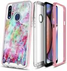 For Samsung Galaxy A20S, Full Body Phone Case Cover + Built-In Screen Protector