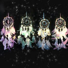 Handmade Feather Dream Catcher LED Car Home Wall Hanging Dreamcatcher Large New