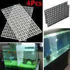 4X Plastic Grid Isolate Board Filter Tray Divider for Aquarium Fish Tank Bottom