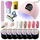 11Pcs/Set MAD DOLL Building UV Gel Nail Polish Extension Gel Nail Dryer Lamp Kit