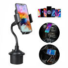 360 Degree Adjustable Car Cup Holder Stand Cradle Mount for Mobile Phone IphoneX