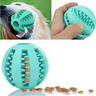 Rubber Ball Dog Chew Toy Chewing Ball Pet Toys Ball Tooth Cleaning Balls Food FJ