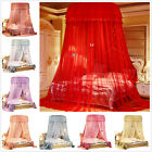 Princess Bed Canopy Netting Curtains Mosquito Net Bedding Dome Hanging King Size image