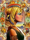 Egyptian Princess Beauty Queen Cleopatra Painting Paint By Numbers Kit DIY