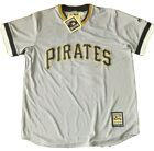 Pittsburg Pirates 21 Roberto Clemente Gray Cooperstown Jersey