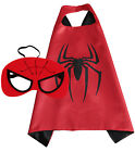 Superhero Cape and Mask for Kids Super Heros Cosplay Costumes Halloween Dress Up