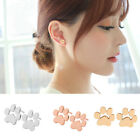 Fashion 1 Pair Dog Paw Print Alloy Stud Earrings Gift Earrings For Dog Love Q3t8