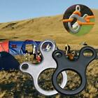 Quick Knot Tent Wind Rope Buckle 3 Hole Antislip Outdoor Tightening Camping L2m9