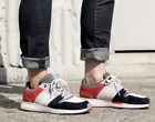 TOMS - Mens - Arroyo - Red/Blue Suede Sneakers