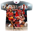 Last Dance Jordan T shirt. Men's, Ladies' and Youth Sizes.Pippen, Rodman, Jordan image
