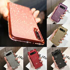 For Samsung S20 S10+ A70 A40 A51 A71 Case Glitter Diamond Plating Silicone Cover