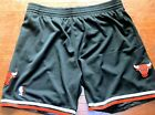 Chicago Bulls Black Mitchell And Ness NBA Shorts