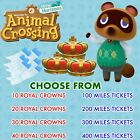 Animal Crossing New Horizons   Choose Bells and Nook Miles Tickets   Fast