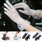 Women Lace Glove Embroidered Gloves Driving Glove Sunscreen Gloves Summer Gloves