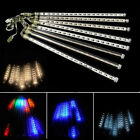 30/50cm LED Meteor Shower Rain Waterproof Xmas Party Falling Tubes String Lights