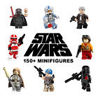 Star Wars Minifigures Rey Luke Skywalker Darth Vader Obi-Wan Clones Mandalorian $1.98 USD on eBay