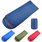 Polyester Ultralight Adult Single Envelope Sleeping Bag Camping Hiking Carrying