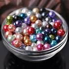 FixedPricewholesale round glass pearl loose crafts beads lot 3/4/5/6/8/10/12/14/16mm