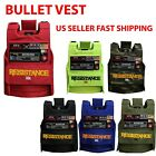 """MENS Vest BULLET PROOF FASHION """"ICON"""" STYLE ONE SIZE FIT ALL  TACTICAL VEST 2 image"""