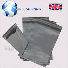 Grey Mailing Bags 12x16 Heavy Duty Good Quality Polythene Mailer Postal Sacks