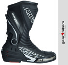 RST Tractech EVO 3 Black Sports Race Boot Motorcycle Boots CE APPROVED