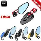"Universal Motorcycle 7/8"" 22mm Handlebar Bar End Side Rearview Mirrors For Honda $19.95 USD on eBay"