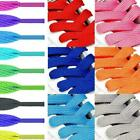 1pair Shoelaces Colorful Coloured Flat Round Bootlace Shoe Laces Sneaker Y9g5