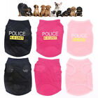 Cute Security Dog Shirt Summer Vest Costume Apparel TShirt Clothes for Pet Puppy