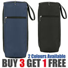 Golf Shoe Bag Mesh Vented - Club Zipper Details - Fathers Day Gift Black Blue