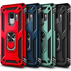 Внешний вид - For Samsung Galaxy S9/S9 Plus Case Ring Stand Phone Cover with Screen Protector