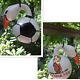 Soccer 2018 Russia Fifa World Cup Ball Hand Painted Real Gourd Birdhouse Swan photo