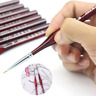 1 Piece Paint Brush Miniature Detail Fineliner Nail Art Drawing Brushes Wolf Hal