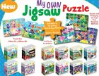 Personalised Own named Jigsaw Puzzle A4 Size {44 boys} 8 blank flat package