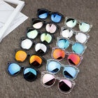 Kids Sunglasses Colorful Reflective Mirror Boys Girls Shades Glasses Goggles New