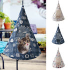 Removable Cat Hanging House Conical Hammock Washable Tent For Cat Small Dog S/M