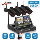 ANRAN 1080P HD Security Camera System Wireless Outdoor 4CH NVR Night Vision 1TB