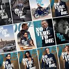 JAMES BOND: NO TIME TO DIE Movie PHOTO Print POSTER 007 Cast Art Character Film $5.68 AUD on eBay