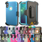 For Apple Iphone X Xs Xr Max (clip Fits Otterbox Defender) Rugged Holster Case