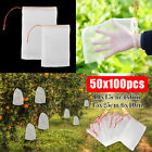 50/100Pc Plants Fruit Garden Protect Net Mesh Bag Against Insect Bird Pest Tools